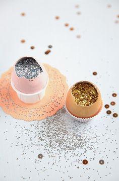 glitter or confetti filled cascarones