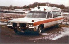Pontiac Vintage Ambulance