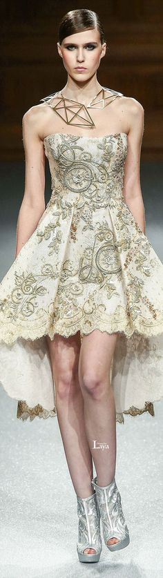 TONY WARD Spring-Summer 2015 COUTURE