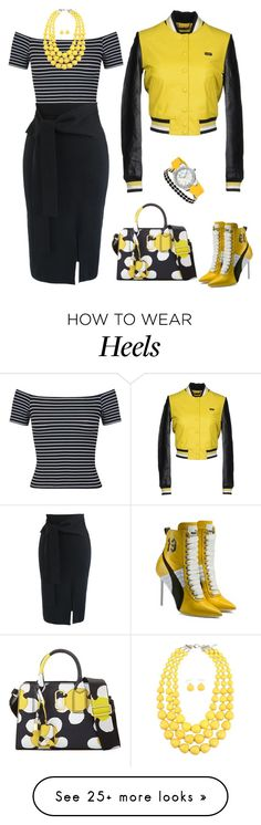 Designer Clothes, Shoes & Bags for Women How To Wear Heels, Miss Selfridge, Marc Jacobs, Shoe Bag, Romwe, Polyvore, Outfits, Collection, Shopping