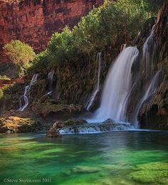 Navajo Falls, Havasu Canyon - Grand Canyon