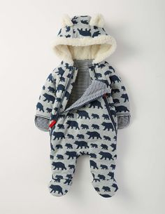Boys Zip-up All-in-one