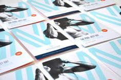 Woodside Health & Tennis Club by Jessica Marak, via Behance