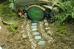 So Cute!!   Fairy Garden Stepping Stones by HiddenWorlds on Etsy, $12.00