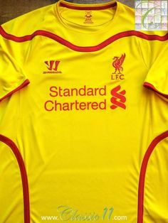 Relive Liverpool's 2014/2015 season with this original Warrior away football shirt.