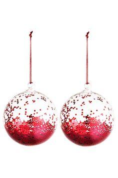 2 db-os karácsonyfadísz szett | H&M