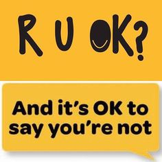 Today is R U OK day.. Staying connected and having meaningful conversations is…