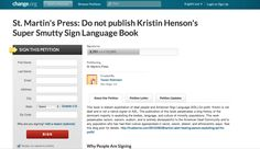 Freedom to Speak in Super Smutty Sign Language