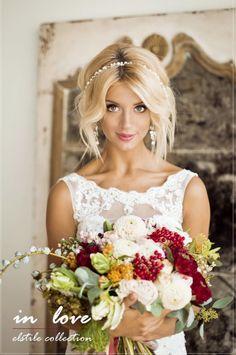 Gorgeous Wedding Hairstyle Inspiration - MODwedding