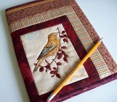 Brown Bird Journal Cover