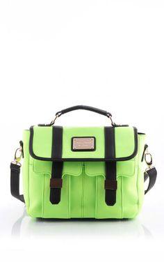 Torebka Tori Neon Green Neon Green, Satchel, Bags, Shopping, Handbags, Satchel Bag, Dime Bags, Lv Bags, Purses
