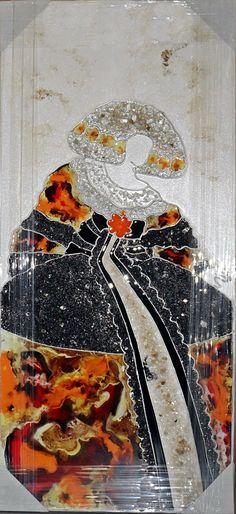 Cuadro menina Masculine Cards, Illuminated Manuscript, Various Artists, Illustrations, Portraits, Collage, Textiles, Rainbow, Figurative