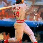 """Pete Rose Art by Edward Vela"" by artofvela"