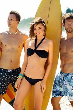 Miranda Kerr BONDS Swimsuit 2016 Campaign Photos