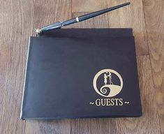 Nightmare Before Christmas Wedding Guest Book by FantasticDealSpot