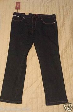 #jeans for sale : PERRY ELLIS men size 38x30 slim dark indigo jeans (elastic cotton bland ) NWT PerryEllis withing our EBAY store at  http://stores.ebay.com/esquirestore