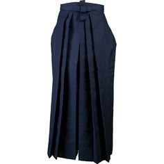 HAKAMA A professional training Hakama. Complete with tie. Tacking holds the pleats in place prior to wearing. (Please do not remove tacking if there is a need to return). Hakama has been finished with a stitched hem and stiff waist-band.