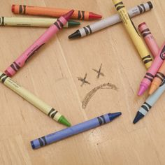 How to Get Crayon Off of a Wood Coffee Table