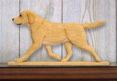 Yellow Labrador Retriever Dog Figurine Sign Plaque Display Wall Decoration  | eBay