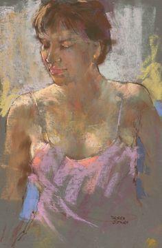 portraits pastel paintings of derek jones -