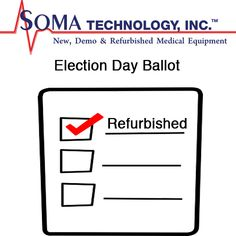 Election Day - Vote For Refurbished Medical Equipment Election Ballot, Election Day, Kitty Party Games, Party Bus, Superhero Party Games, Medical Pictures, Social Awareness, Medical Assistant, Medical Illustration