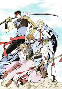 Tsubasa Reservoir Chronicles by CLAMP