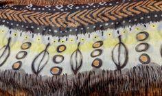 Tribal prints on Georgette