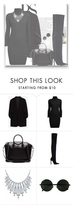 """""""WE DIDN'T COME TO PLAY"""" by byjjbh on Polyvore featuring Rumour London, Givenchy, Zara and Bling Jewelry"""