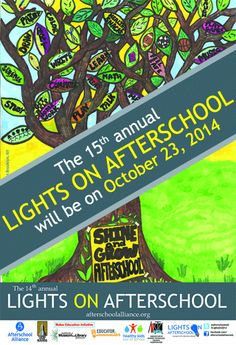 Celebrate the 15th annual Lights On Afterschool Oct. 23, 2014!