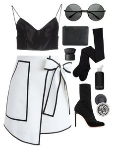 Paris bby by mode-222 on Polyvore featuring polyvore, fashion, style, Alexander Wang, Chicwish, Francesco Russo, Givenchy, NARS Cosmetics, bkr and clothing