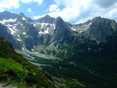 Valley of Green Lake, High Tatras, Slovakia