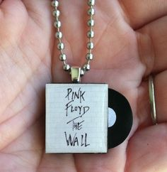 What a great idea for a necklace, and I just happen to be a big Pink Floyd fan from back in the day, but other favourite albums/artists would be great too.....great for a gift for the music lover.