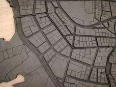Detalle do plano de Beirut en goma, de Marwan Rechmaoui Beirut, Tile Floor, Journey, Flooring, Modern, Trendy Tree, Tile Flooring, The Journey, Wood Flooring