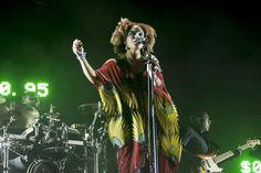 Martina Topley-Bird (Massive Attack) en el Low Festival 2014