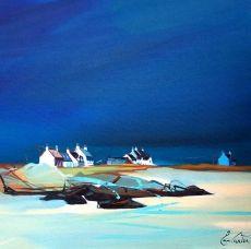 "Pam Carter :: Coastal Vision 1V 10""x10"""