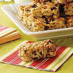 Healthy snack idea: Fruit 'n' Nut Bars recipe