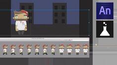Sprite Sheet Animations (Adobe Edge Animate Online Week, Episode 3)