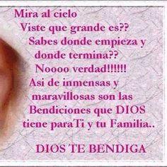 Bendiciones de Dios para ti y tu familia - † Imágenes con Frases de Bendiciones y Cristianas †