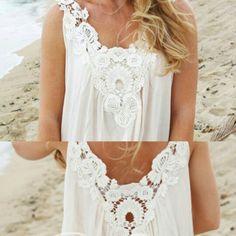 #Blusa #blanca #detalles #encaje #sinmangas