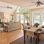 sunroom and fans