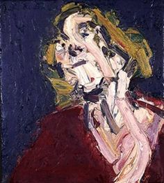 Frank Auerbach, oil on canvas. The strong brush strokes created by frank auerbach helps to create a textured bold painting. Frank Auerbach, A Level Art, Human Art, Painting Inspiration, Art Inspo, Figure Painting, Contemporary Paintings, Love Art, Sculpture