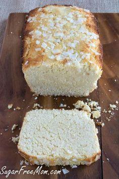 sugar free lemon pound cake