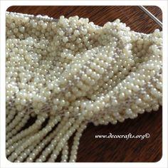 Beaded knitting