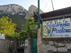Ristorante da Paolino, The Lemon Tree, Capri, Italy. #MrMilesinCapri