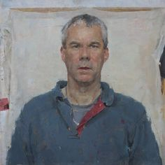 Keith Breeden 'Self In A Mirror – Blue Shirt'