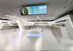 Safran Showroom on Behance