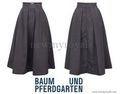 Crown Princess Mary wears BAUM UND PFERDGARTEN Sashenka Skirt www.newmyroyals.com