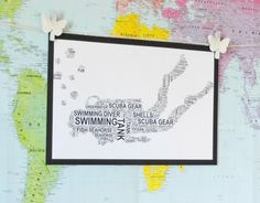 Diver Personalised Sports Word Art Print. FREE UK P&P. Sports gift, Birthday, Special Occasion. - pinned by pin4etsy.com