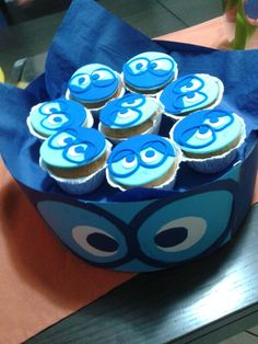 Cup cake inside out