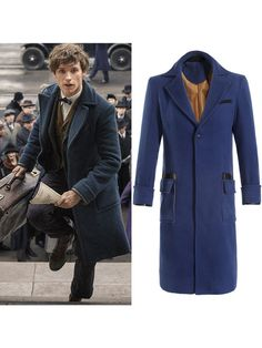 Fantastic Beasts And Where To Find Them Newt Scamander #Cosplay Costume Eddie Redmayne Costume